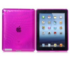 iCaseSilicone Purple iPad 2/3/4