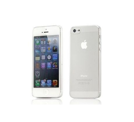 iCaseSilicone Clear iPhone 5 / 5S / SE průsvitný