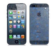 3D Blue and White Porcelain Screen protector na iPhone 5 / 5S / SE