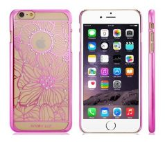 Decorated Plastic Case iPhone 6 Plus / 6S Plus (Pink)