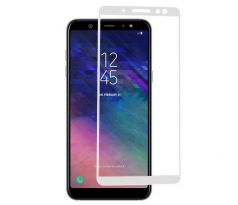 FULL GLUE 3D glass Samsung Galaxy A8 2018 white