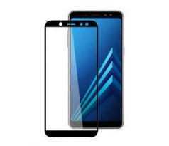 FULL GLUE 3D glass Samsung Galaxy A8 2018 black