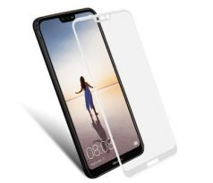 FULL GLUE 3D glass Huawei P20 Lite White