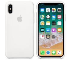 iPhone X Silicone Case - WHITE MQGP2FE / A