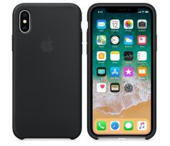 iPhone X Silicone Case - BLACK MQT12ZM / A